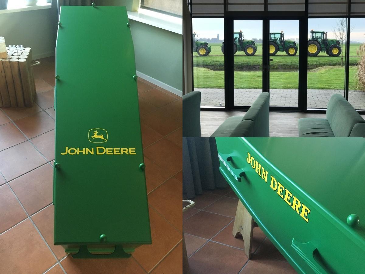 Afscheid van een grote John Deere fan